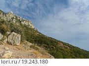 Гора Южная Демерджи. Крым. (2015 год). Стоковое фото, фотограф Наталья Гармашева / Фотобанк Лори