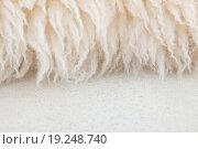 Белый овечий мех. Стоковое фото, фотограф Юрий Волобуев / Фотобанк Лори