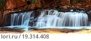 Купить «panoramic view of tropical Tadtone waterfall in rain forest in Chaiyaphum North east of Thaland», фото № 19314408, снято 18 ноября 2017 г. (c) easy Fotostock / Фотобанк Лори