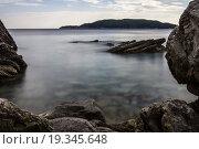 Берег моря. Стоковое фото, фотограф Евгений Якимов / Фотобанк Лори