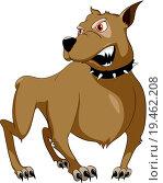 Купить «Cartoon Character Sly Dog», фото № 19462208, снято 22 января 2018 г. (c) easy Fotostock / Фотобанк Лори
