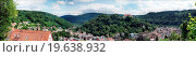 Panoramic town and Castle Neuenbuerg. Стоковое фото, фотограф Zoonar/Edith Czech / easy Fotostock / Фотобанк Лори