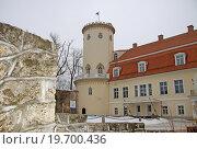 Купить «Новый замок в Цесисе, Латвия», фото № 19700436, снято 17 марта 2012 г. (c) Шилер Анастасия / Фотобанк Лори