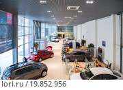 Купить «Inside in the office of official dealer Nissan», фото № 19852956, снято 10 января 2016 г. (c) FotograFF / Фотобанк Лори