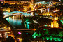 panoramic view of Tbilisi in Georgia, Europe, фото № 19977624, снято 16 сентября 2015 г. (c) Дмитрий Калиновский / Фотобанк Лори
