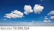 Купить «Cloudscape with some wonderful scenic clouds», фото № 19990324, снято 18 сентября 2018 г. (c) easy Fotostock / Фотобанк Лори