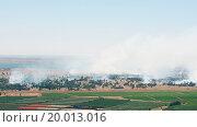 Купить «Battle in Syrian city Quneitra near Israeli border», фото № 20013016, снято 13 декабря 2017 г. (c) easy Fotostock / Фотобанк Лори