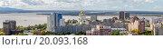Купить «Хабаровск, Амурский берег», фото № 20093168, снято 13 сентября 2015 г. (c) Игорь Сарапулов / Фотобанк Лори