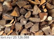 Куча дров. Стоковое фото, фотограф Сергей Блинов / Фотобанк Лори