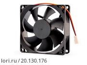 Купить «The computer fan isolated on white background», фото № 20130176, снято 21 ноября 2009 г. (c) easy Fotostock / Фотобанк Лори