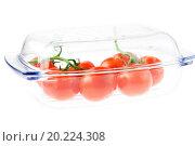 Купить «tomatoes in a glass isolated on white», фото № 20224308, снято 19 мая 2010 г. (c) easy Fotostock / Фотобанк Лори