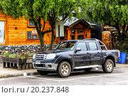 Купить «Ford Ranger», фото № 20237848, снято 20 ноября 2015 г. (c) Art Konovalov / Фотобанк Лори