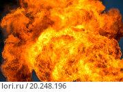 Купить «Огромное пламя в небе», фото № 20248196, снято 4 июня 2015 г. (c) Икан Леонид / Фотобанк Лори