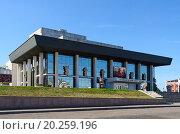 Купить «Владимирский академический областной театр драмы, Россия», фото № 20259196, снято 21 августа 2015 г. (c) Ольга Коцюба / Фотобанк Лори