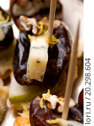 Купить «Appetizer Plate with Dactyl, Pecan nuts and Cheese», фото № 20298604, снято 24 января 2004 г. (c) easy Fotostock / Фотобанк Лори