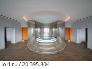 Купить «SOCHI, RUSSIA - JUL 27, 2014: The room with a round whirlpool in the center in Hotel Radisson Blu Paradise Resort and Spa», фото № 20395804, снято 27 июля 2014 г. (c) Losevsky Pavel / Фотобанк Лори