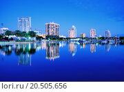 Купить «Skyline of St. Petersburg, Florida», фото № 20505656, снято 15 ноября 2018 г. (c) PantherMedia / Фотобанк Лори
