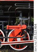 Старый паровоз. Стоковое фото, фотограф Александр Токмаков / Фотобанк Лори