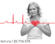 Купить «unhappy woman suffering from heartache», фото № 20716576, снято 27 ноября 2015 г. (c) Syda Productions / Фотобанк Лори
