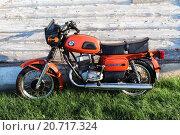 """Мотоцикл """"Восход-3М"""" (2014 год). Редакционное фото, фотограф Валентин Сорокин / Фотобанк Лори"""