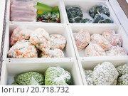 Овощи замороженные. Стоковое фото, фотограф Оксана Лозинская / Фотобанк Лори