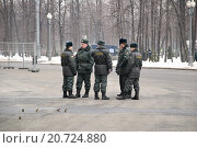 Купить «Полицейский патруль», эксклюзивное фото № 20724880, снято 3 марта 2012 г. (c) Алёшина Оксана / Фотобанк Лори