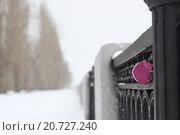 Замок любви. Стоковое фото, фотограф Максим Мистюков / Фотобанк Лори