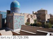 Купить «Купол мавзолея в комплексе Шахи-Зинда», фото № 20729396, снято 22 сентября 2007 г. (c) Elizaveta Kharicheva / Фотобанк Лори
