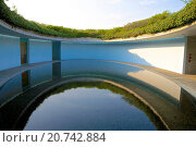 Купить «Naoshima Contemporary Art Museum by Tadao Ando, Naoshima Island, Japan», фото № 20742884, снято 20 апреля 2008 г. (c) age Fotostock / Фотобанк Лори