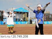 На фестивале Аксу-Картофель-Fest (Павлодарская область, Казахстан) (2015 год). Редакционное фото, фотограф Владимир Абакумов / Фотобанк Лори