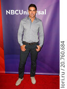 Купить «Celebrities attend 2015 NBCUniversal Summer Press Day at The Langham Huntington Hotel & Spa Featuring: Galen Gering Where: Los Angeles, California, United...», фото № 20760684, снято 2 апреля 2015 г. (c) age Fotostock / Фотобанк Лори
