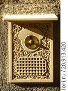 Купить «Vintage door bell», фото № 20913420, снято 4 декабря 2019 г. (c) PantherMedia / Фотобанк Лори