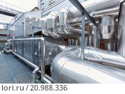 Купить «Installation of air conditioning, Ventilation air filters of the operating rooms, Hospital Donostia, San Sebastian, Gipuzkoa, Basque Country, Spain», фото № 20988336, снято 23 марта 2015 г. (c) age Fotostock / Фотобанк Лори