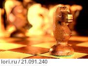 Фигура шахматная - конь. Стоковое фото, фотограф Сергеев Валерий / Фотобанк Лори