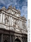 Купить «Santa Maria del Giglio Church, Venice, Italy.», фото № 21093620, снято 13 ноября 2001 г. (c) age Fotostock / Фотобанк Лори