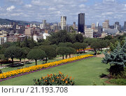 Купить «Pretoria, Totale/ Skyline», фото № 21193708, снято 16 августа 2018 г. (c) age Fotostock / Фотобанк Лори