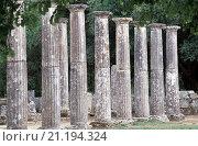 Peloponnes, Olympia/ Palästra. Стоковое фото, фотограф (c) Rainer Kiedrowski / age Fotostock / Фотобанк Лори