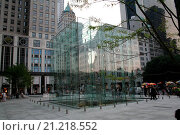 Купить «Apple Store, Manhattan, New York, United States, North America», фото № 21218552, снято 21 августа 2006 г. (c) age Fotostock / Фотобанк Лори
