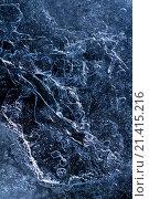 Ледяной фон с замерзшими пузырями. Стоковое фото, фотограф Алексей Лобанов / Фотобанк Лори