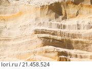 Стена песка в пустыне. Стоковое фото, фотограф Павел С. / Фотобанк Лори