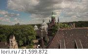Купить «Vajdahunyad Castle - Будапешт, Венгрия. Съемка с коптера», видеоролик № 21599872, снято 10 апреля 2020 г. (c) kinocopter / Фотобанк Лори