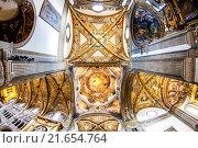 Купить «interior of Parma Cathedral, Emilia-Romagna, Italy.», фото № 21654764, снято 17 августа 2018 г. (c) easy Fotostock / Фотобанк Лори