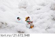 Через снежные заносы и перевалы домой на север. Стоковое фото, фотограф Анатолий Платонов / Фотобанк Лори