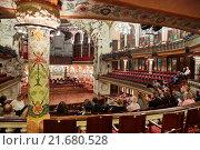 Купить «Palau de la Musica Catalana, by Lluis Domenech i Montaner, Barcelona. Catalonia. Spain», фото № 21680528, снято 20 ноября 2015 г. (c) age Fotostock / Фотобанк Лори