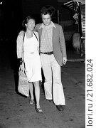 Купить «Italian director Bernardo Bertolucci having a walk with his wife Maria Paola Maino. Italy, May 1973», фото № 21682024, снято 21 октября 2018 г. (c) age Fotostock / Фотобанк Лори