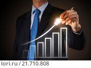 Купить «Average sales dynamics», фото № 21710808, снято 28 февраля 2013 г. (c) Sergey Nivens / Фотобанк Лори