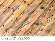 Wooden planks with natural patterns as background, фото № 21722556, снято 6 февраля 2016 г. (c) FotograFF / Фотобанк Лори
