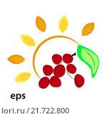 Купить «Солнце и ягоды», иллюстрация № 21722800 (c) Музыка Анна / Фотобанк Лори