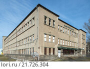 Купить «Dresden, Germany, the Dresden-Pieschen in Sachsenbad», фото № 21726304, снято 8 марта 2015 г. (c) Caro Photoagency / Фотобанк Лори