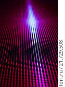 Яркий фон из рядов красных точек. Стоковое фото, фотограф Сергей Блинов / Фотобанк Лори